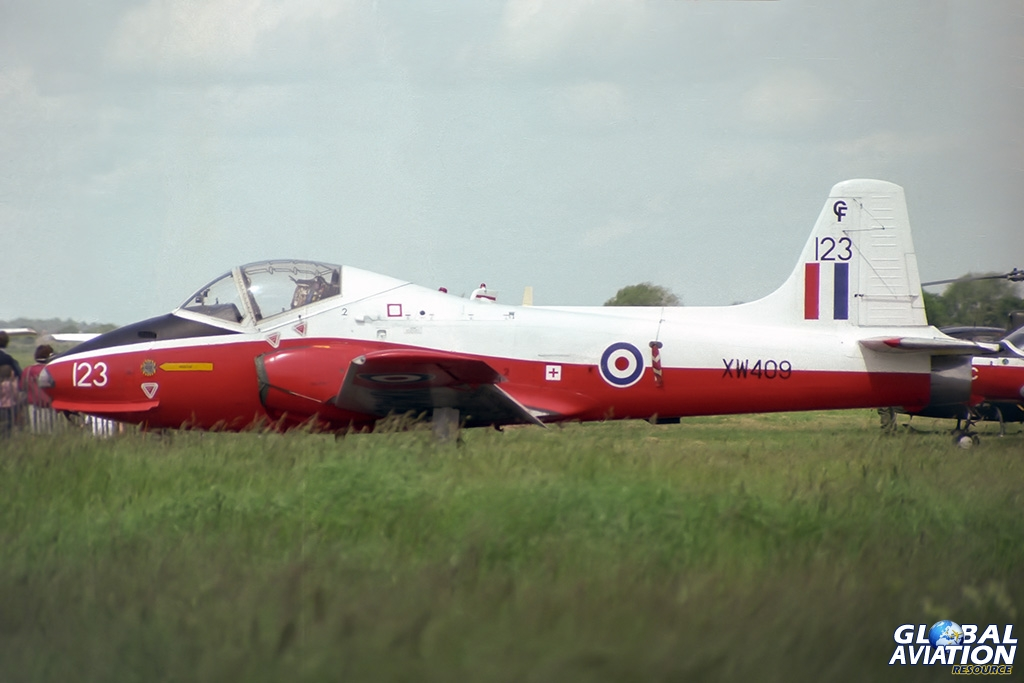 Jet Provost T5A XW409 - © Paul Filmer - Global Aviation Resource