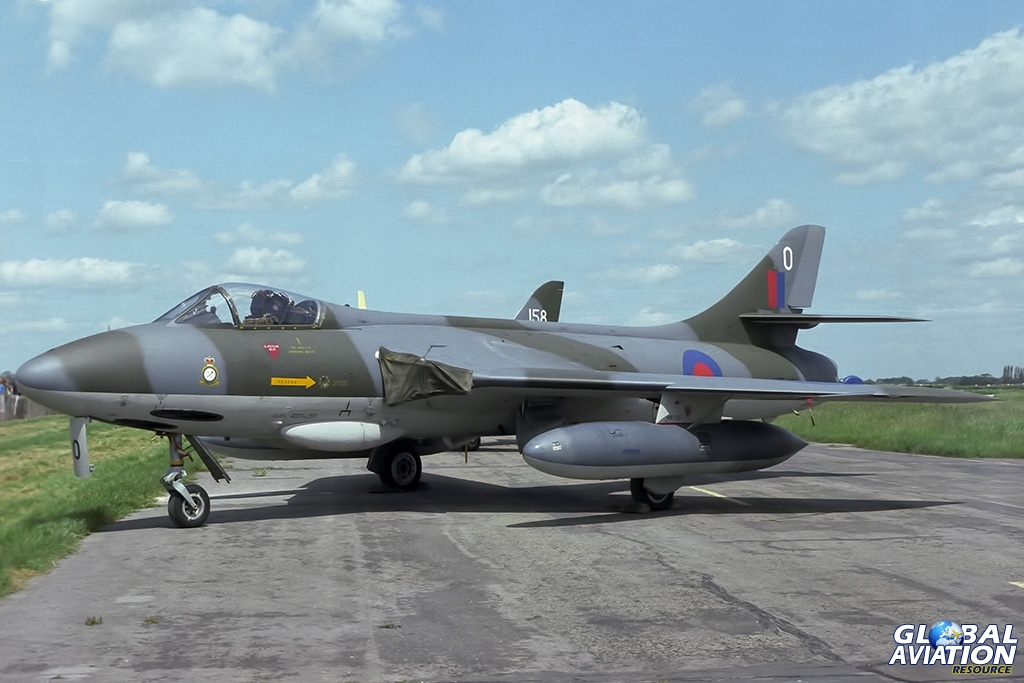 Hunter FGA9 XF431 - © Paul Filmer - Global Aviation Resource
