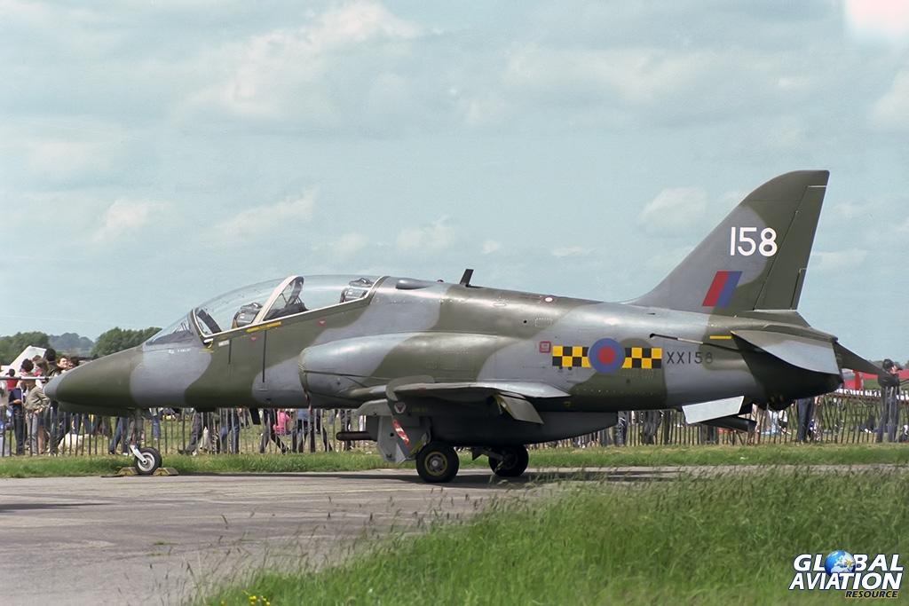 Hawk T1 XX158 - © Paul Filmer - Global Aviation Resource