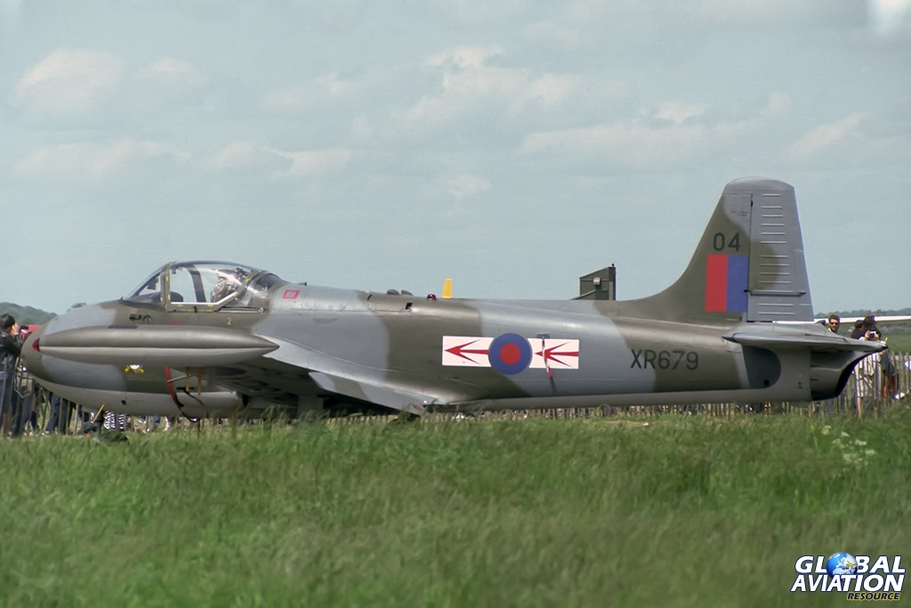 Jet Provost T4 XR679 - © Paul Filmer - Global Aviation Resource