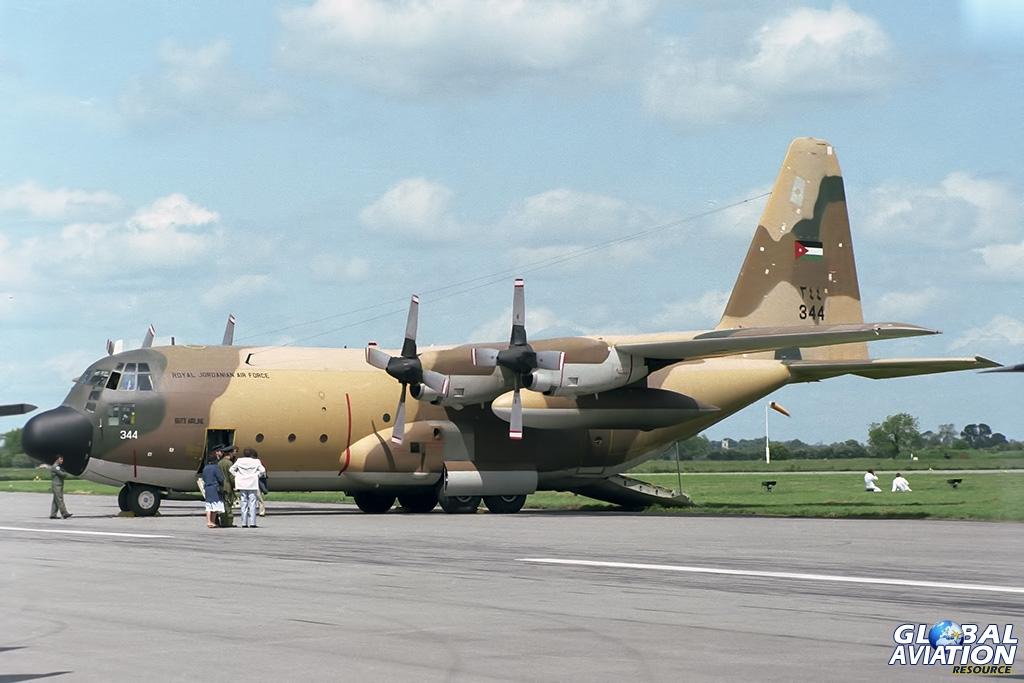 Royal Jordanian Air Force C-130H 344 - © Paul Filmer - Global Aviation Resource