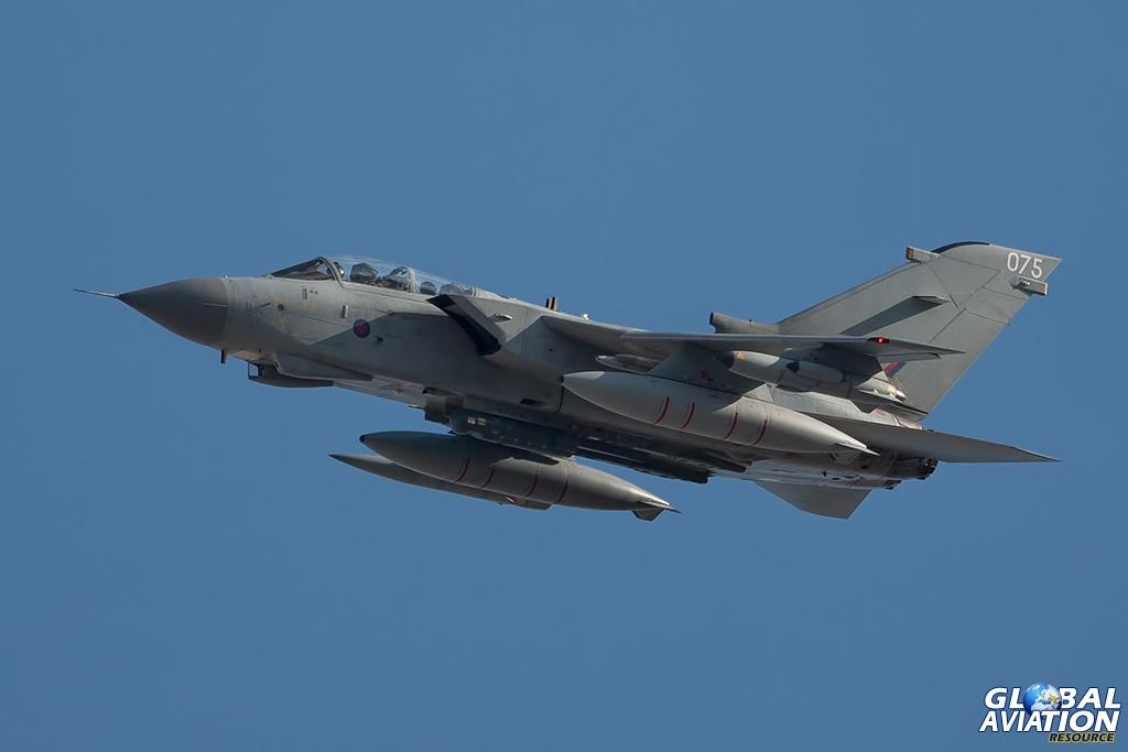 RAF Tornado GR4 ZA613 at Nellis AFB in March 2012 - © Paul Filmer - Global Aviation Resource