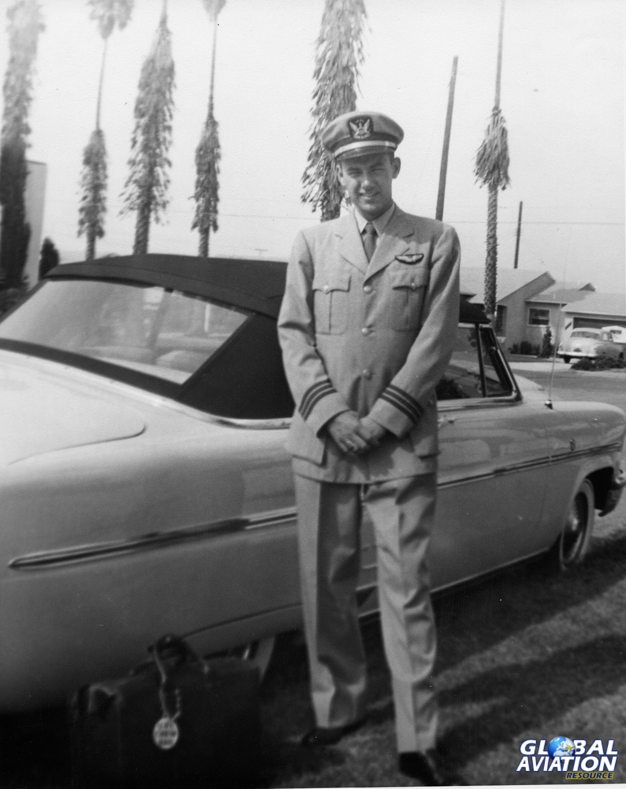 Clay in 1953- Clay Lacy Collection