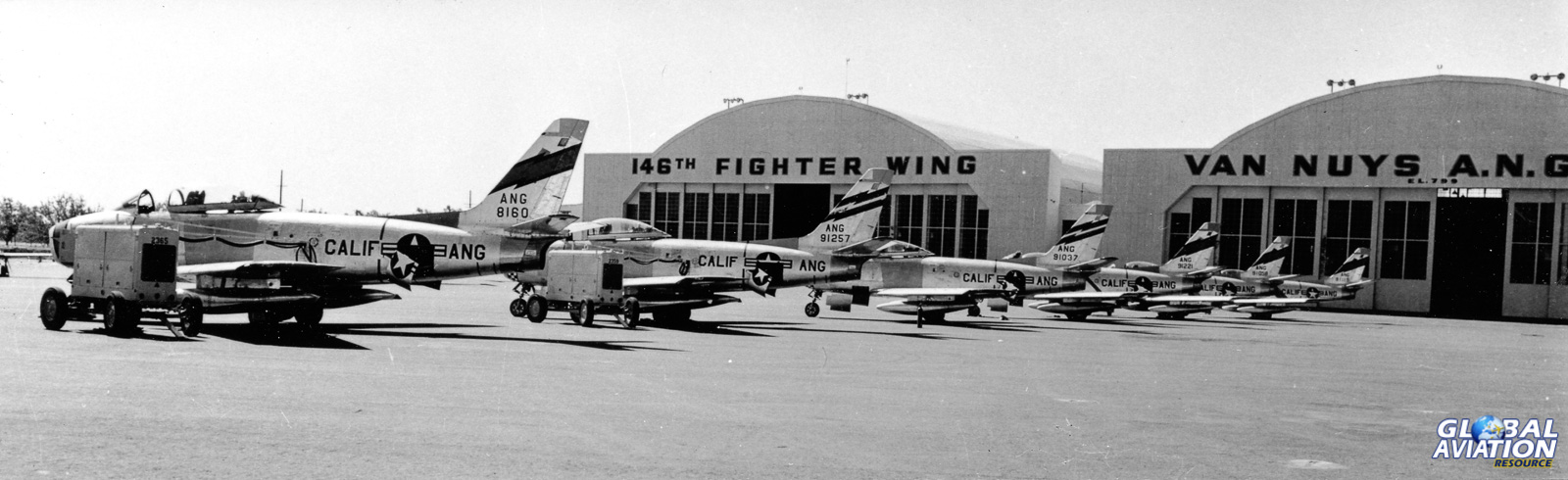 California ANG F-86s- Clay Lacy Collection
