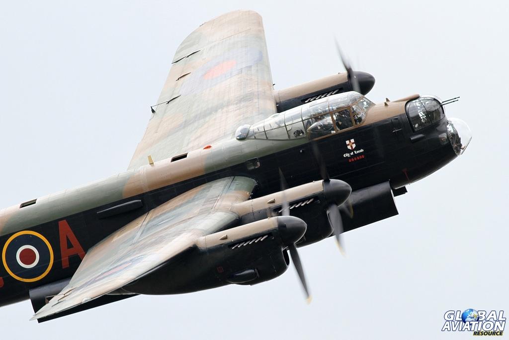 BBMF Avro Lancaster © Karl Drage - Global Aviation Resource