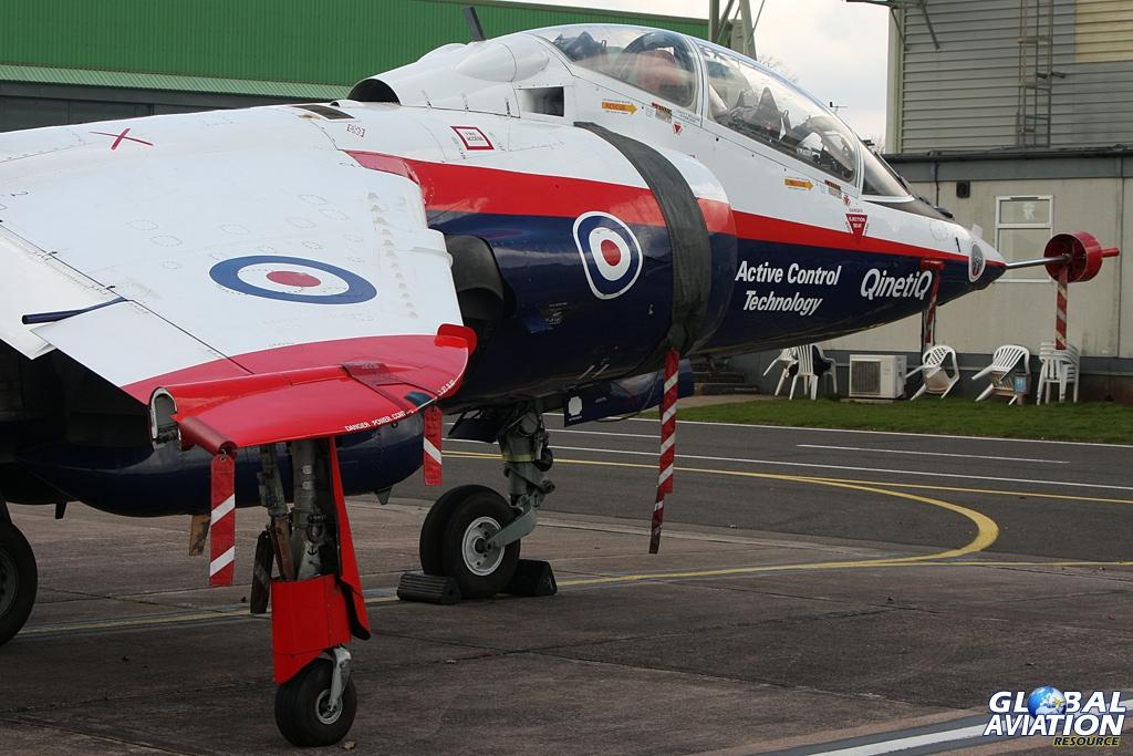 VAAC Harrier at RAF Cosford © Gareth Stringer - Global Aviation Resource