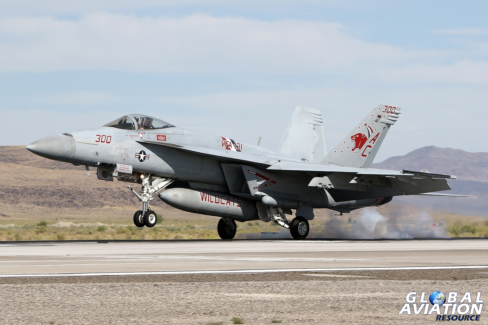 VFA-131 Wildcats F/A-18E © Paul Dunn - Global Aviation Resource