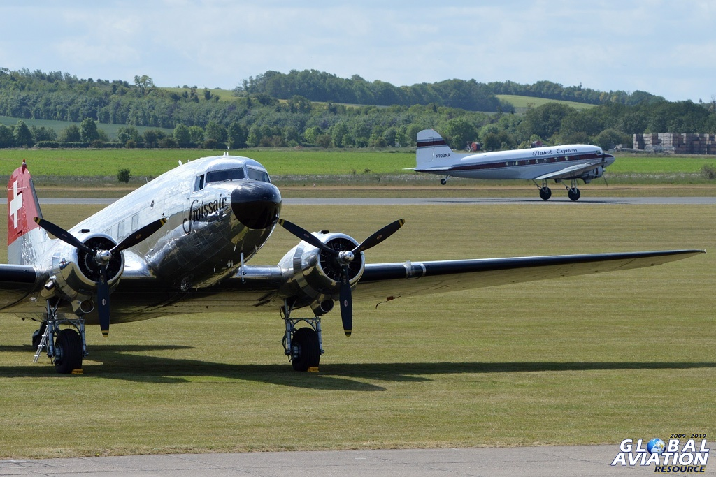 Daks at Duxford for D-Day © Lindsay Peacock - Global Aviation Resource