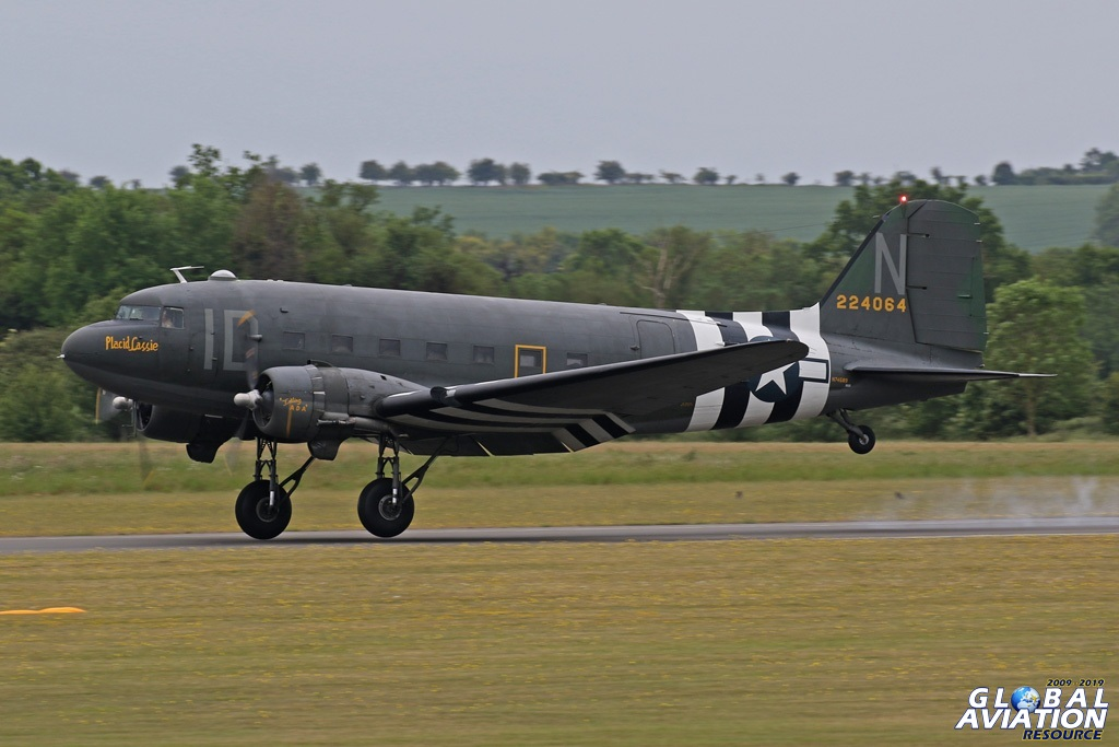 Placid Lassie - a D-Day veteran © Chris Wood - www.globalaviationresource.com