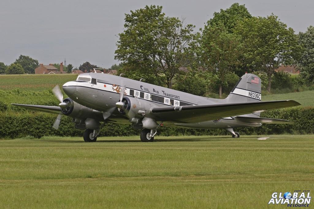 DC-3A/C-53 N8336C The Spirit of Benovia c/n 7313 JM Air LLC, Phoenix, Az - Old Warden © Chris Wood - www.globalaviationresource.com