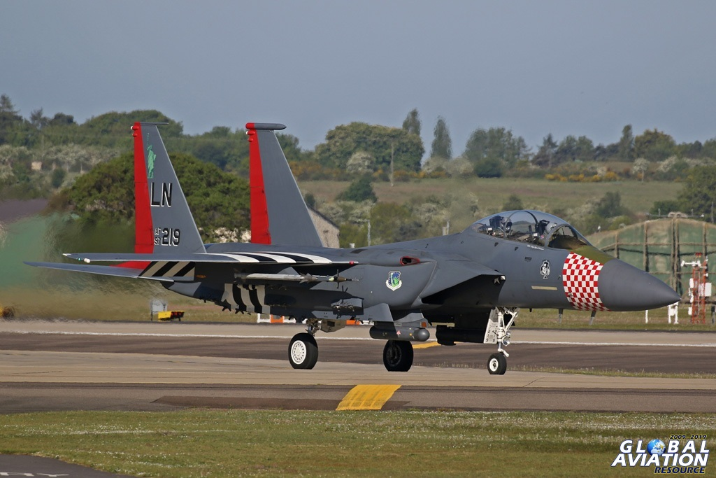 F-15E RAF Lakenheath © Chris Wood - www.globalaviationresource.com