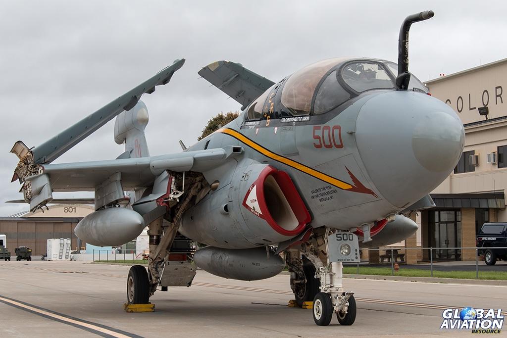 EA-6B Prowler - © Paul Filmer - Global Aviation Resource