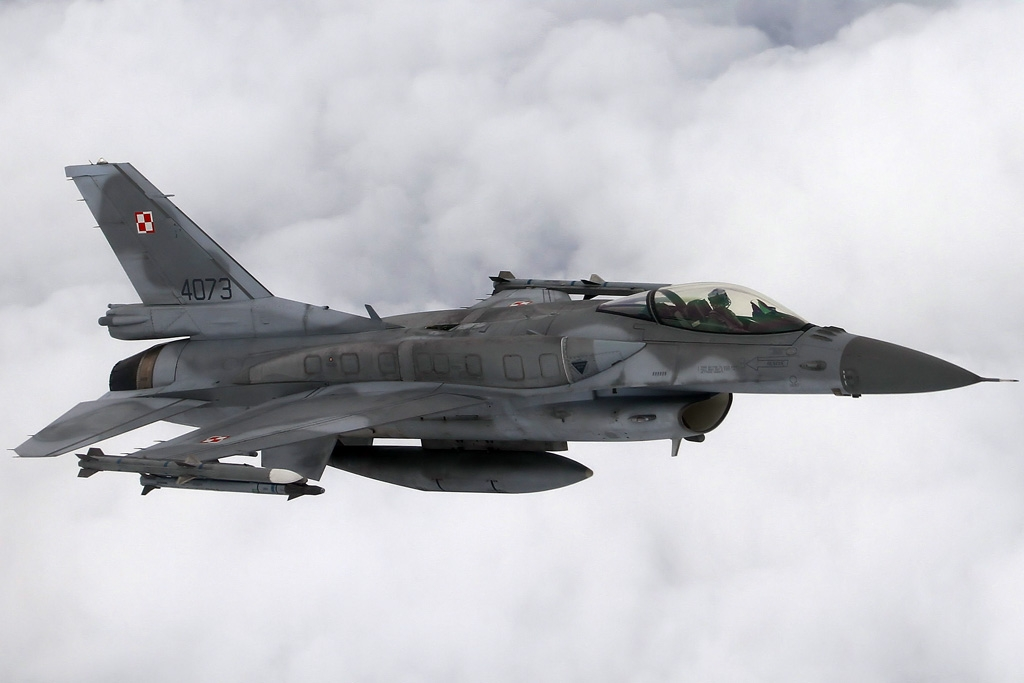Polish Air Force F-16C (Block 52+) taking part in Frisian Flag and EART 2019 © Jeroen Van Holland - Global Aviation Resource