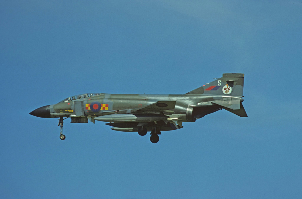 RAF F-4 Phantom © Terry Senior