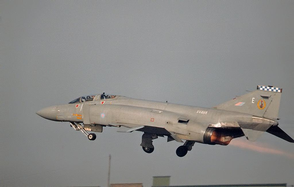 RAF F-4 Phantom © Terry Senior