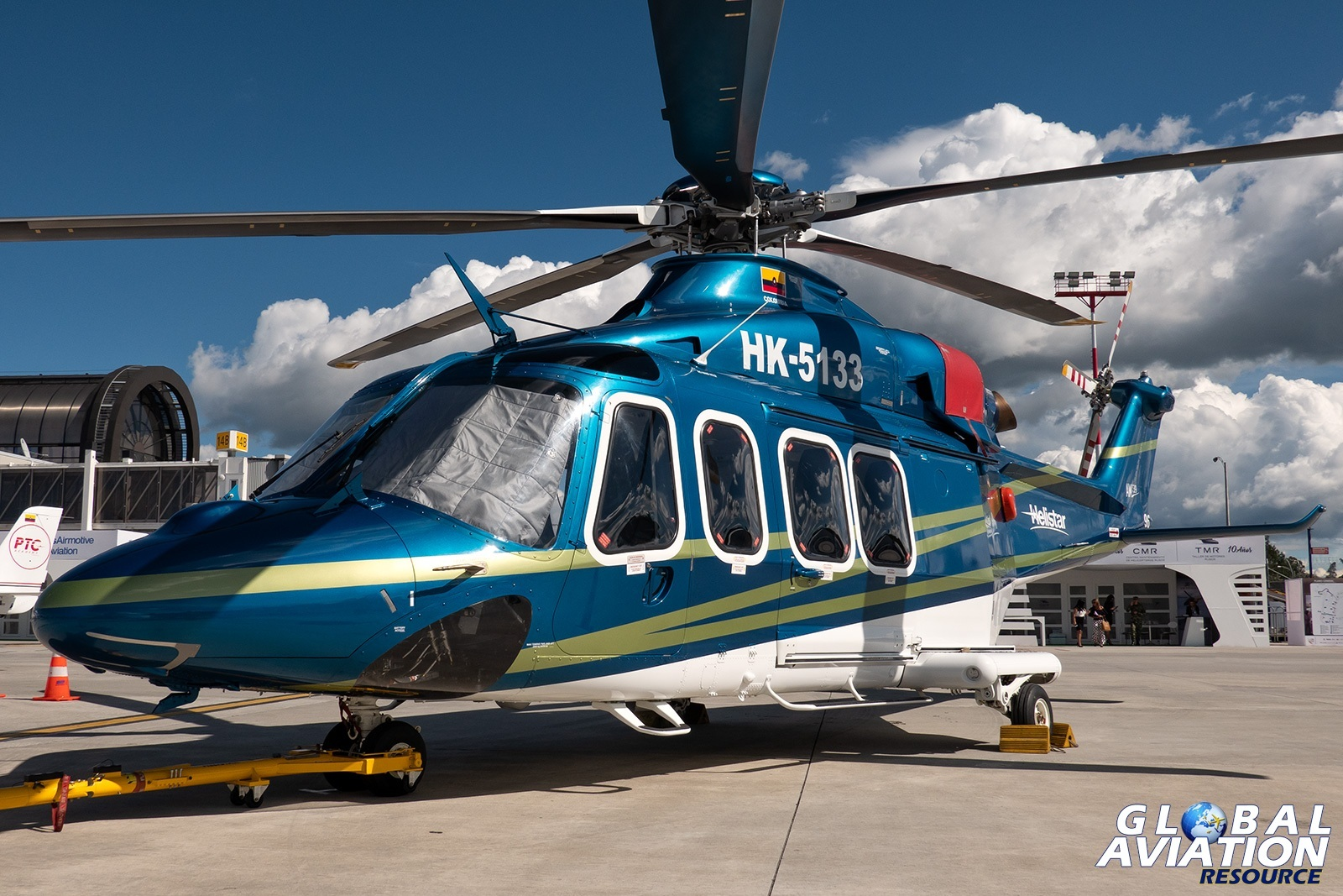Helistar AW139 - © Paul Filmer, Global Aviation Resource