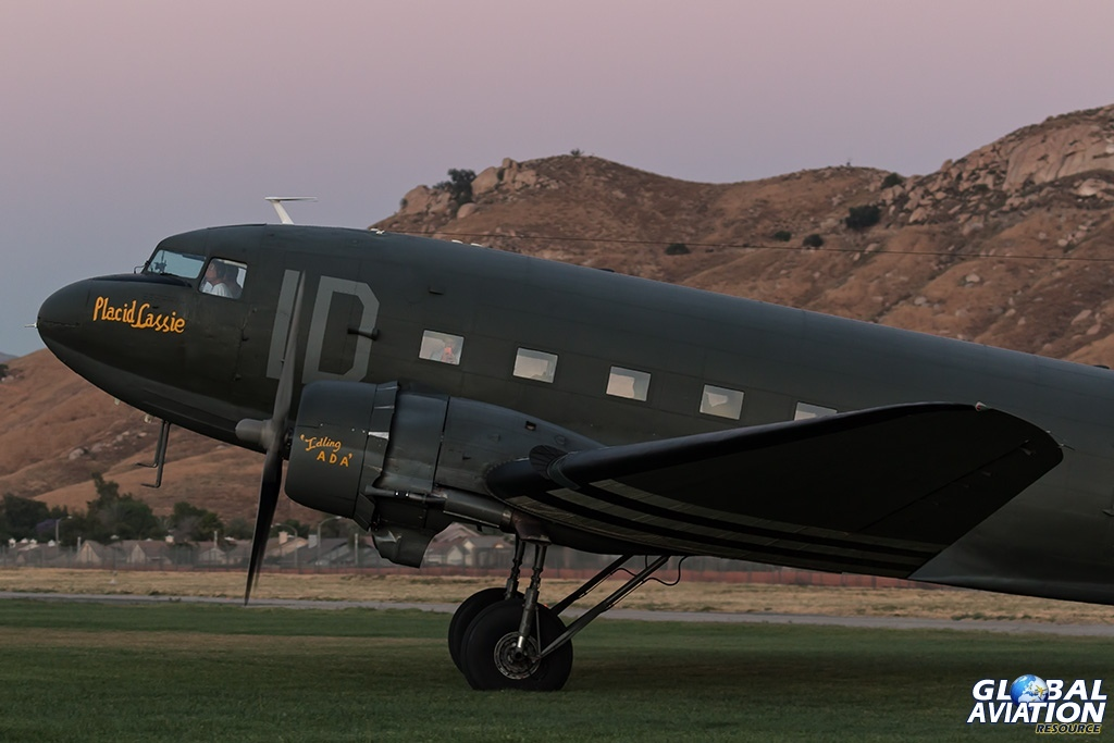 C-47A N74589 Placid Lassie - © Paul Filmer - Global Aviation Resource