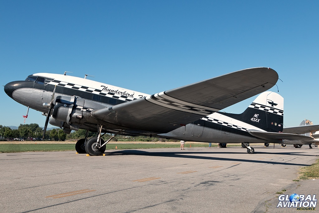 DC-3A N43XX - © Paul Filmer - Global Aviation Resource