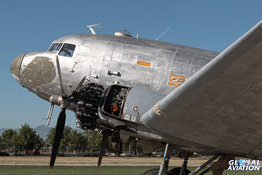 C-47A N231GB - © Paul Filmer - Global Aviation Resource