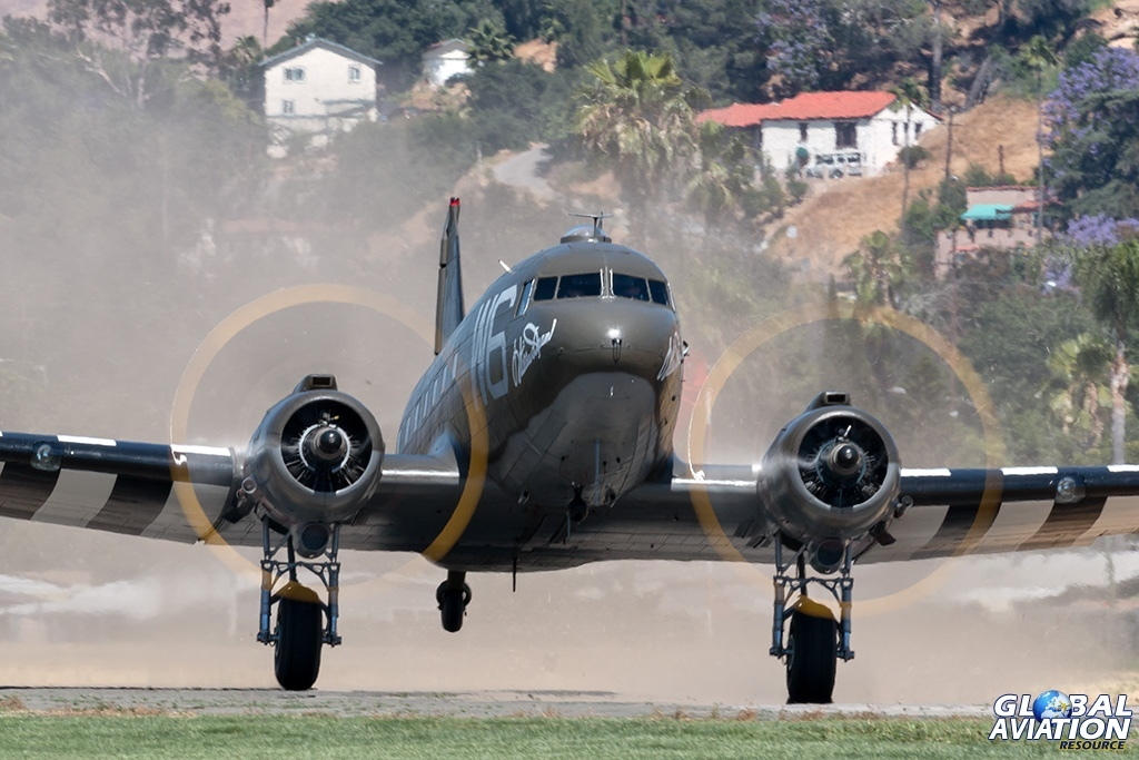 C-47B N791HH - © Paul Filmer - Global Aviation Resource