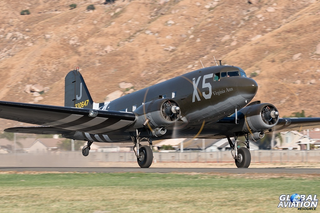 C-47A N62CC - © Paul Filmer - Global Aviation Resource