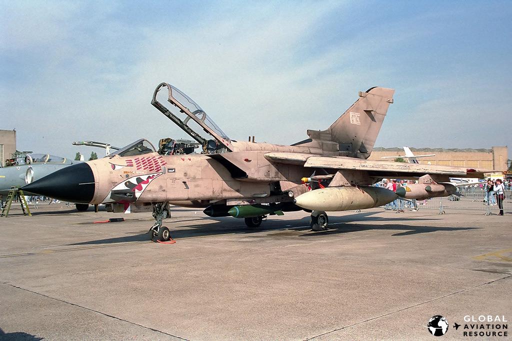 Tornado GR.1 RAF Finningley - 21/09/1991 © John Higgins