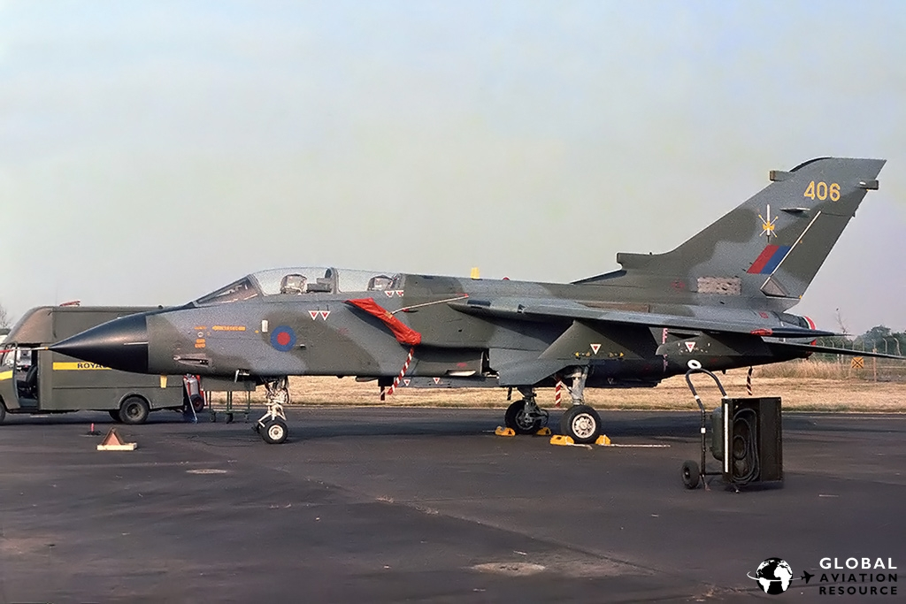 Tornado GR.1 | RAF Fairford - 17/7/83 © Paul Filmer