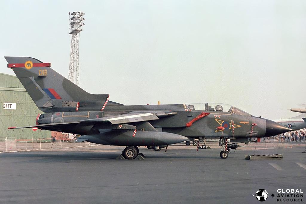 Tornado GR.1 - RAF St Mawgan 10/08/1983 © Paul Filmer