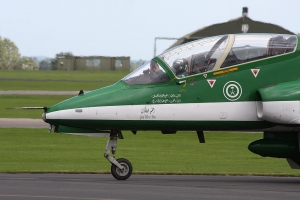Saudi Hawks at Yeovilton in 2012 © Gareth Stringer - www.globalaviationresource.com