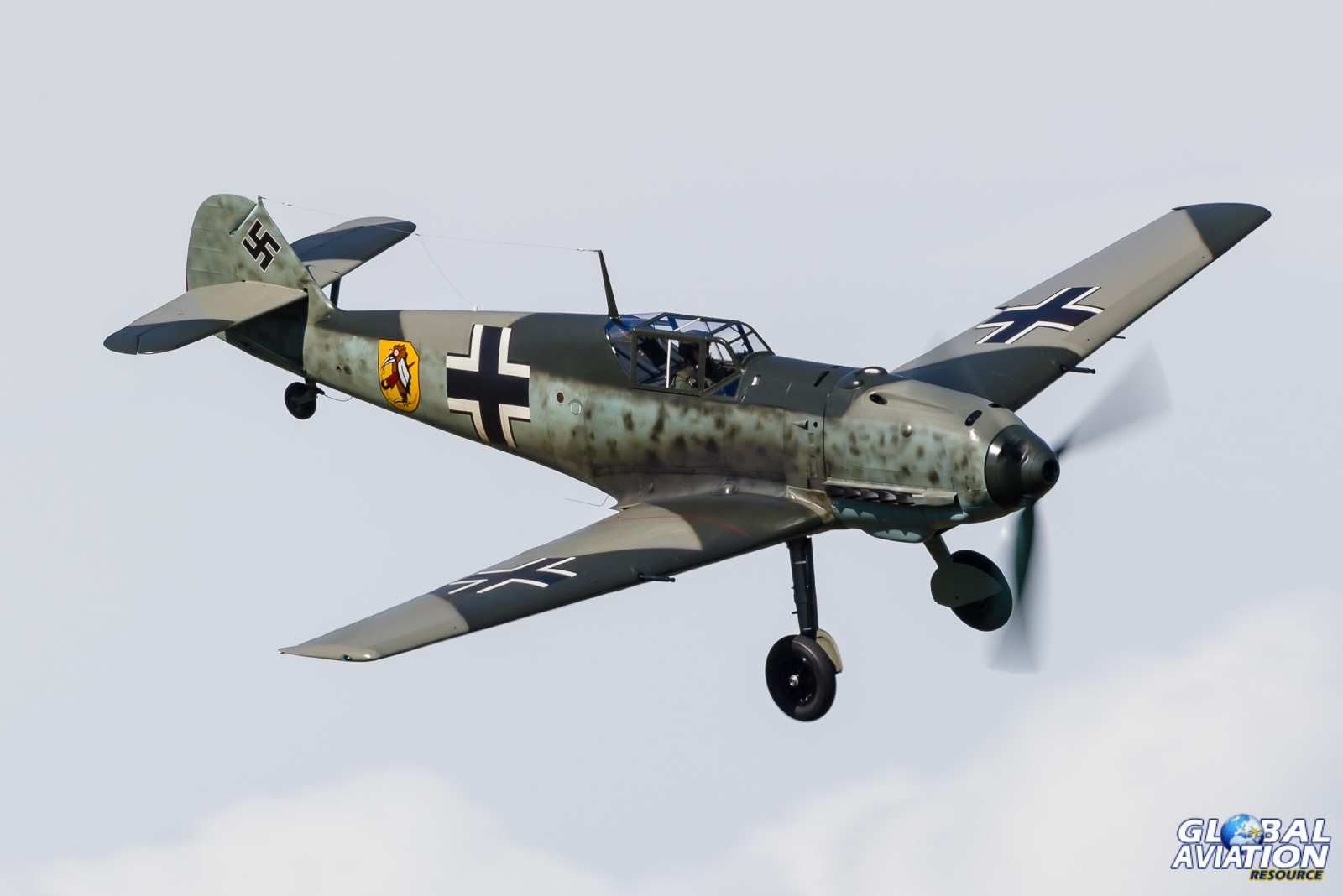 BF-109 at Paine Field © Rob Edgcumbe - Global Aviation Resource