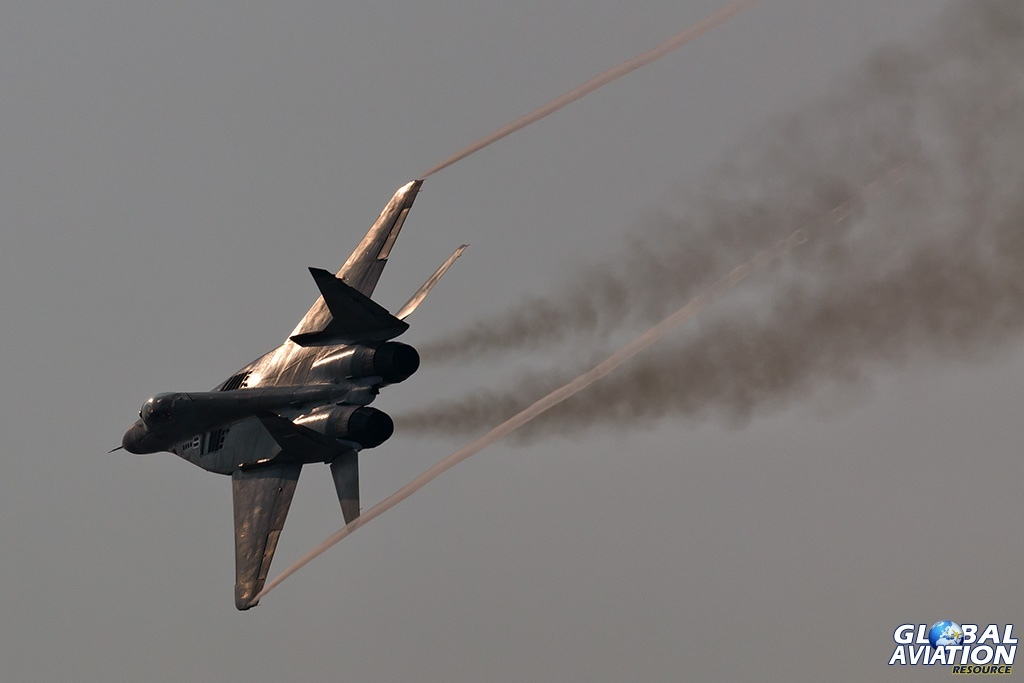 IRIAF MiG-29B - © Paul Filmer - Global Aviation Resource