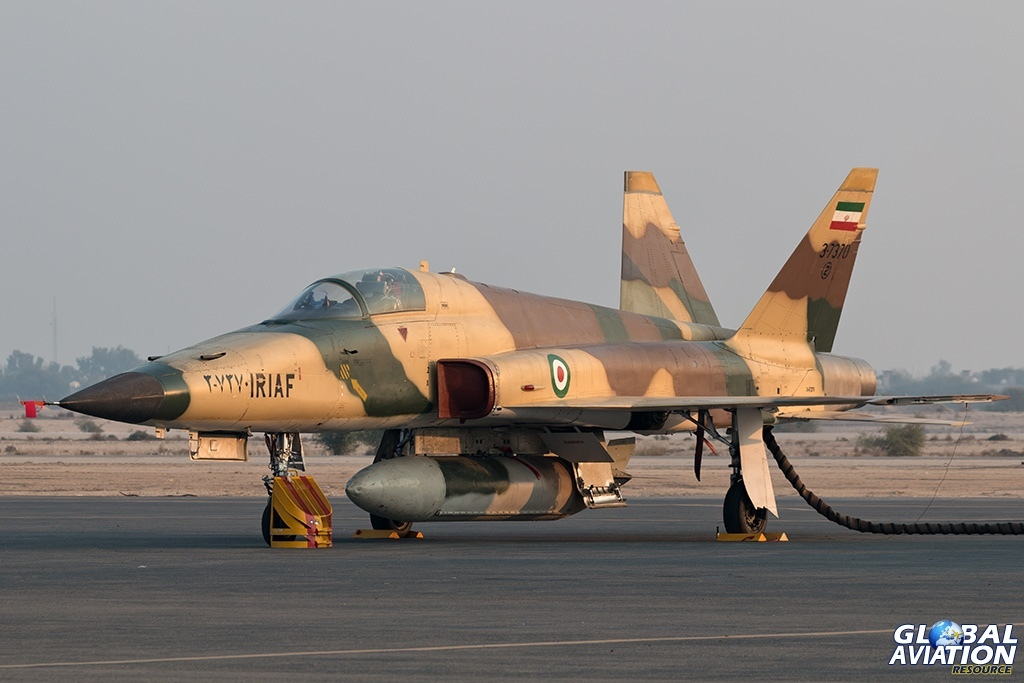 IRIAF HESA Saeqeh - © Paul Filmer - Global Aviation Resource