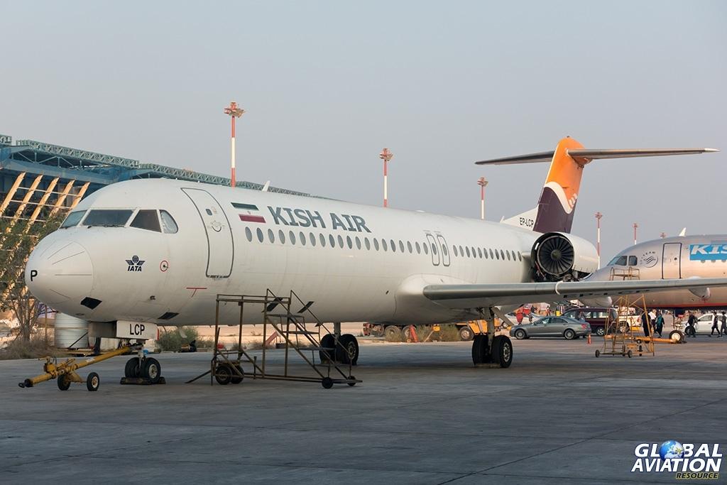 Kish Air Fokker 100 - © Paul Filmer - Global Aviation Resource