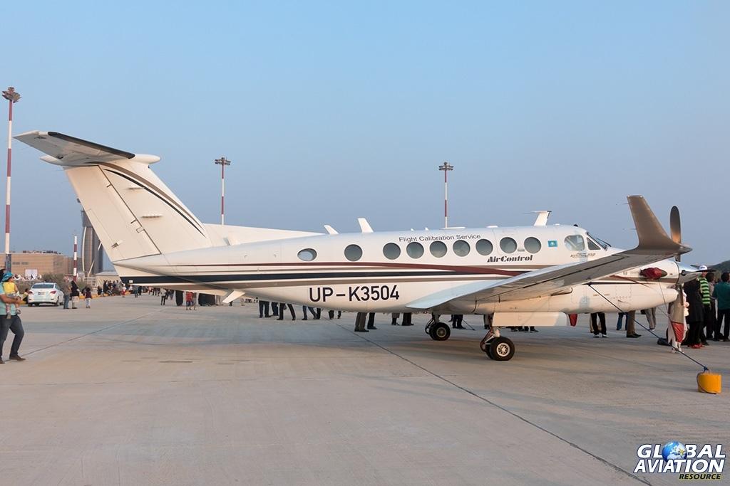 Air Control Flight Calibration Services Beech 350 - © Paul Filmer - Global Aviation Resource
