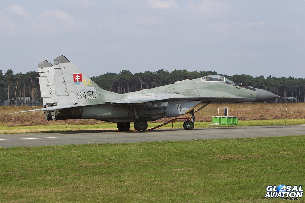Slovak Air Force/1 BL MiG-29AS © Tom Gibbons - Global Aviation Resource