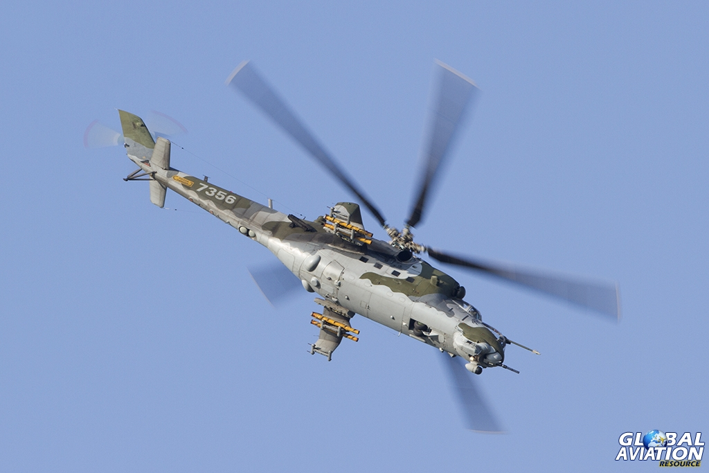 Czech Air Force/221.vrlt Mil Mi-24V © Tom Gibbons - Global Aviation Resource