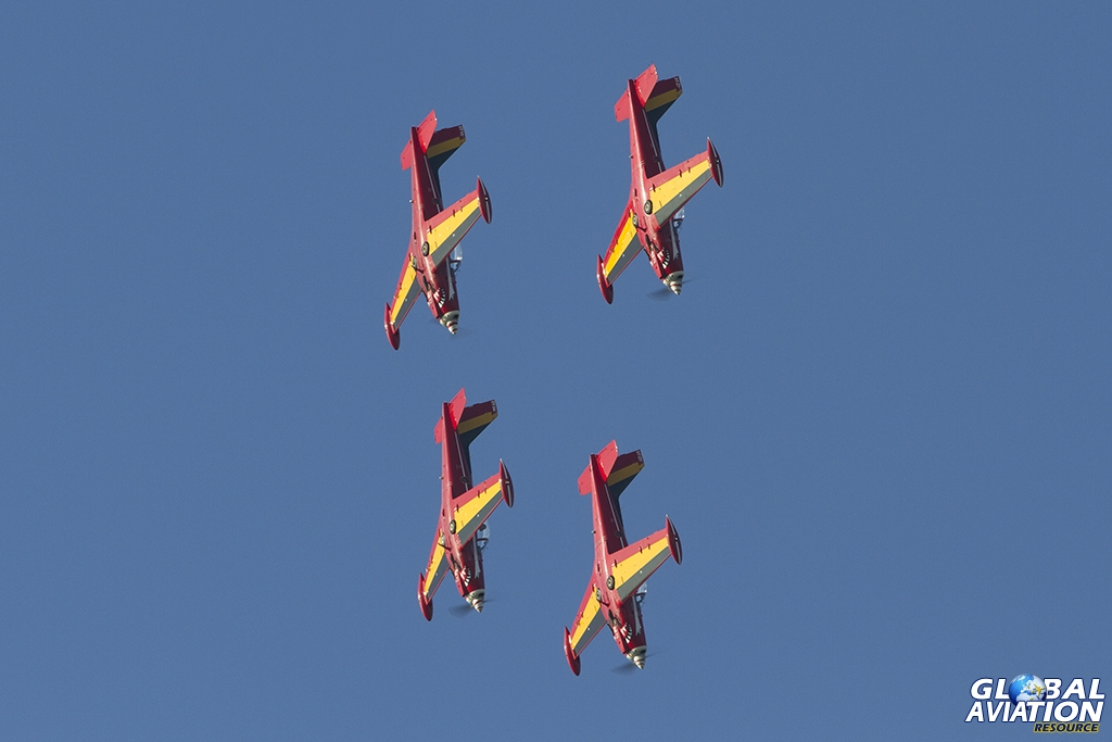 Belgian Air Force/Red Devils © Tom Gibbons - Global Aviation Resource