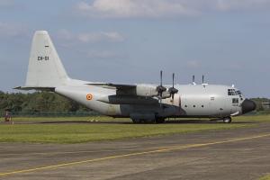 Belgian Air Force/20 Squadron C-130H Hercules © Tom Gibbons - Global Aviation Resource