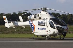 Belgian Federal Police MD902 Explorer © Tom Gibbons - Global Aviation Resource