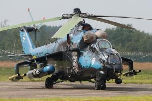 Czech Air Force/221.vrlt Mil Mi-24V Tiger Special Scheme © Gordon Jones - Global Aviation Resource