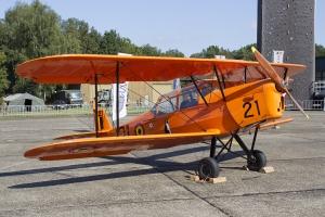 Former Belgian Air Force Stampe SV-4B V-21 (OO-SVG) © Tom Gibbons - Global Aviation Resource