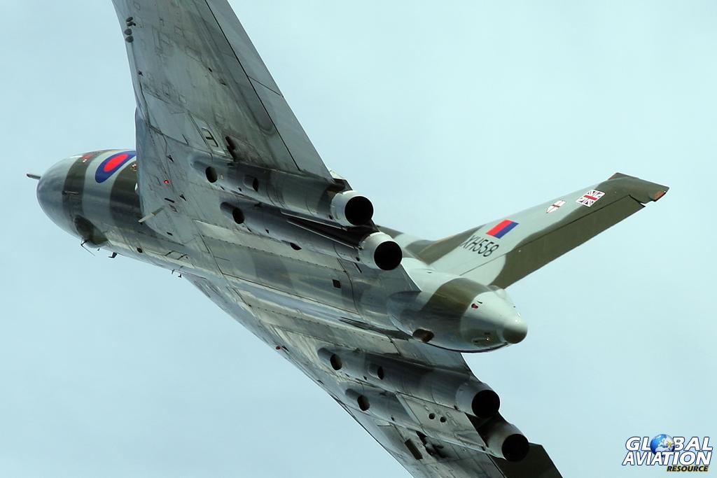 Vulcan XH558 © Gareth Stringer www.globalaviationresource.com