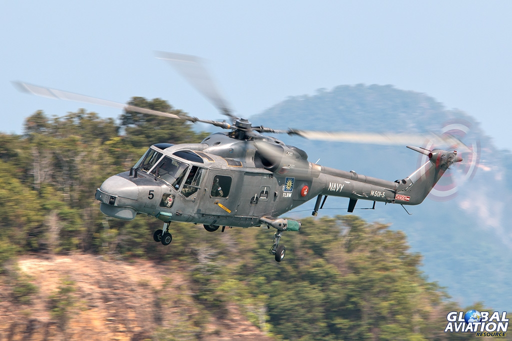 Royal Malaysian Navy Super Lynx - © Paul Filmer - Global Aviation Resource