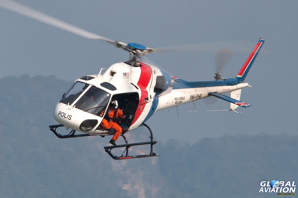 Royal Malaysian Police AS355N - © Paul Filmer - Global Aviation Resource