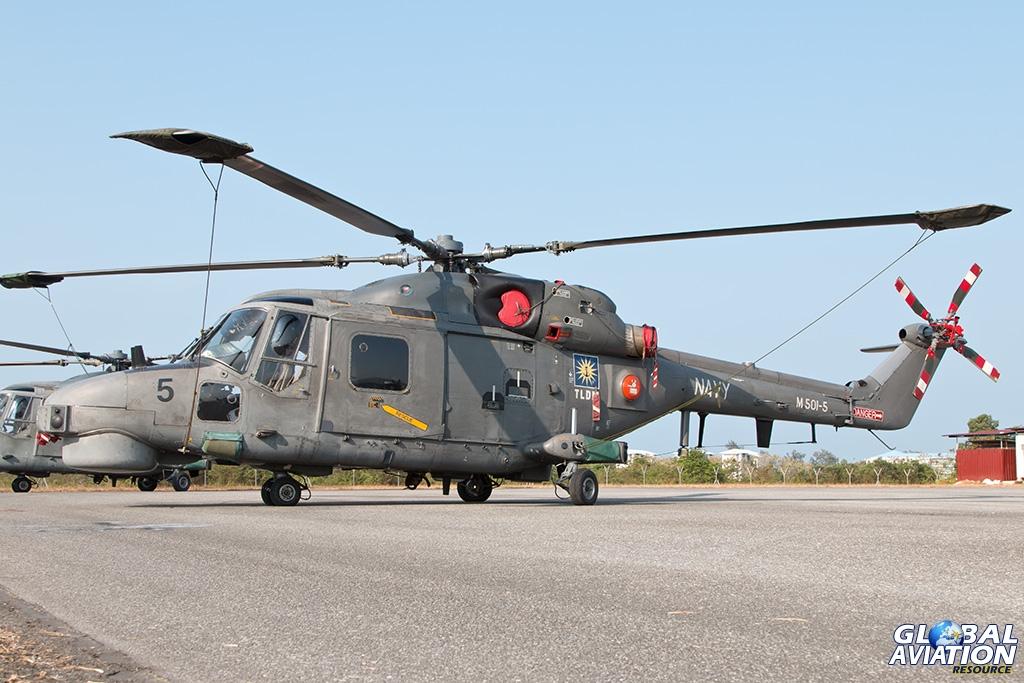 Royal Malaysian Navy Super Lynx - © Paul Filmer - Global Aviation Resource
