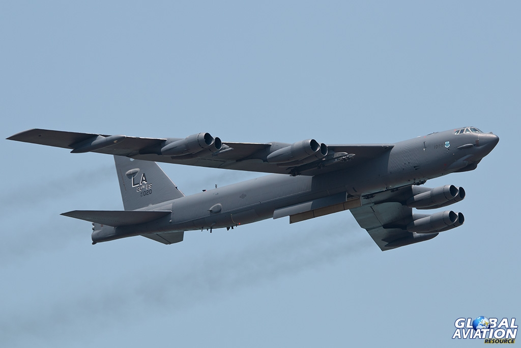 USAF B-52H - © Paul Filmer - Global Aviation Resource