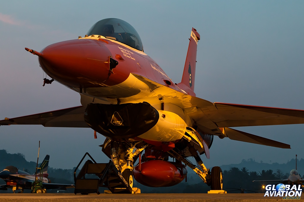 Singapore Air Force F-16C - © Paul Filmer - Global Aviation Resource