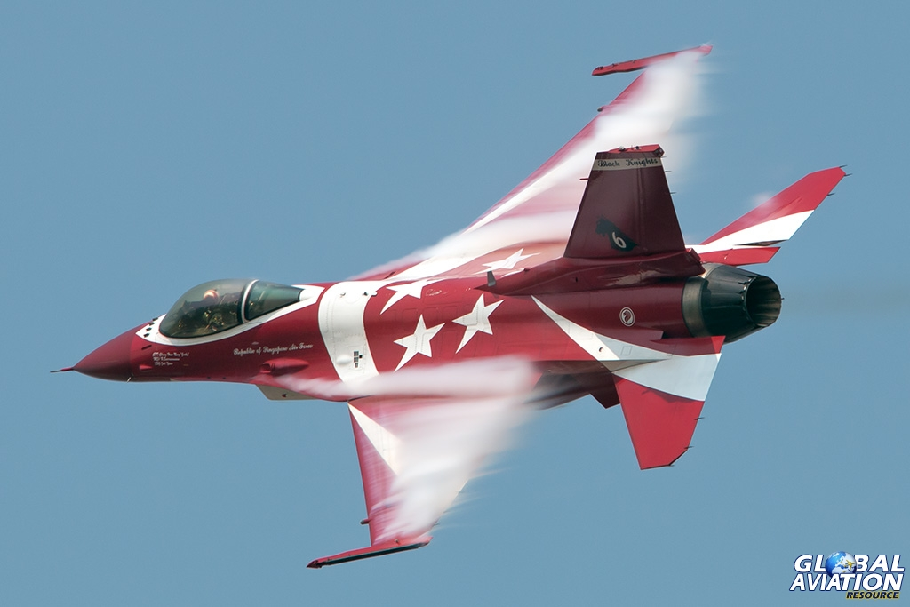 Republic of Singapore Air Force F-16C - © Paul Filmer - Global Aviation Resource