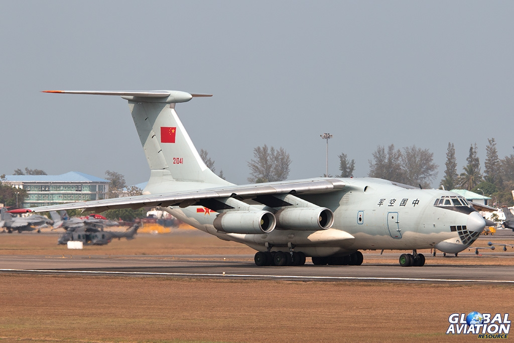 PLAAF Il-76MD - © Paul Filmer - Global Aviation Resource