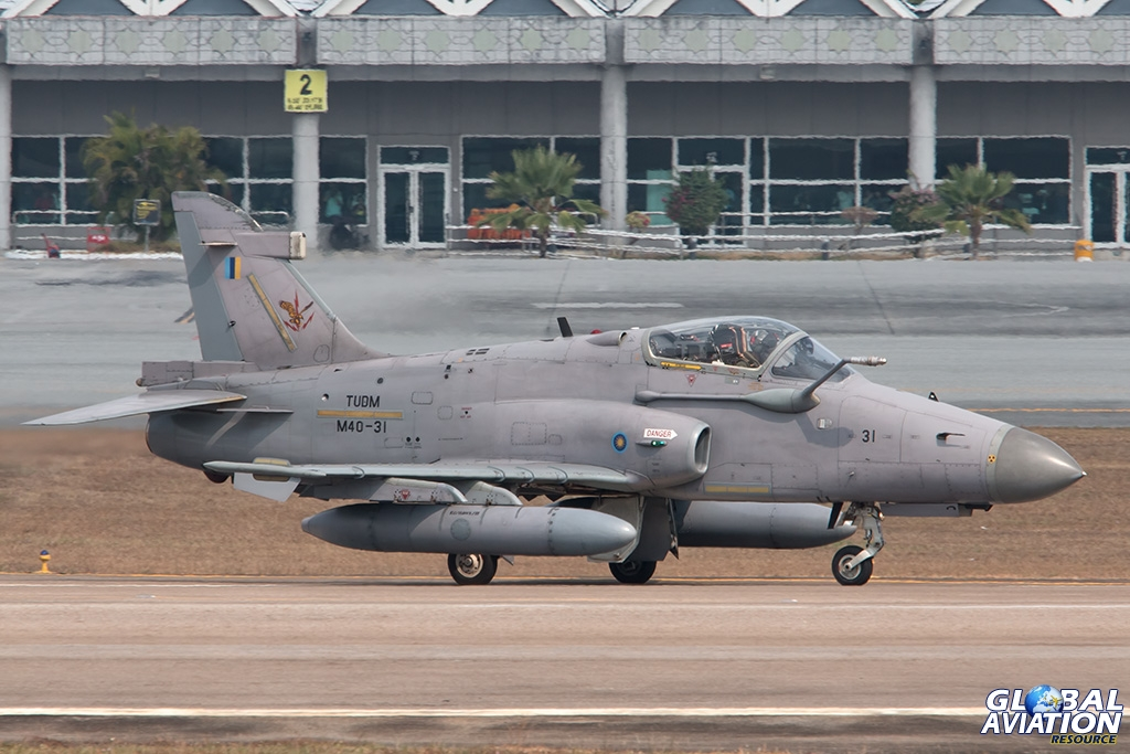 RMAF Hawk Mk208 - © Paul Filmer - Global Aviation Resource